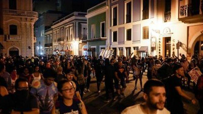 Anuncian más protestas en Puerto Rico por el 'chatgate'
