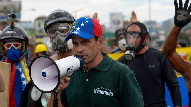 Líder Henrique Capriles anuncia retiro de coalición opositora venezolana