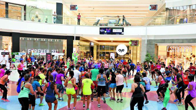 Altaplaza Mall celebró el Wellness Weekend