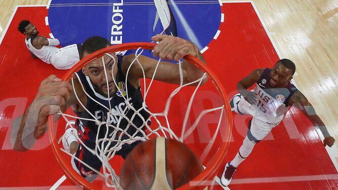 Francia sorprende y elimina a Estados Unidos en el Mundial de Baloncesto