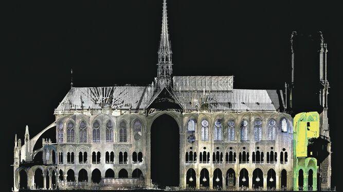 La Notre Dame más exacta en 3D