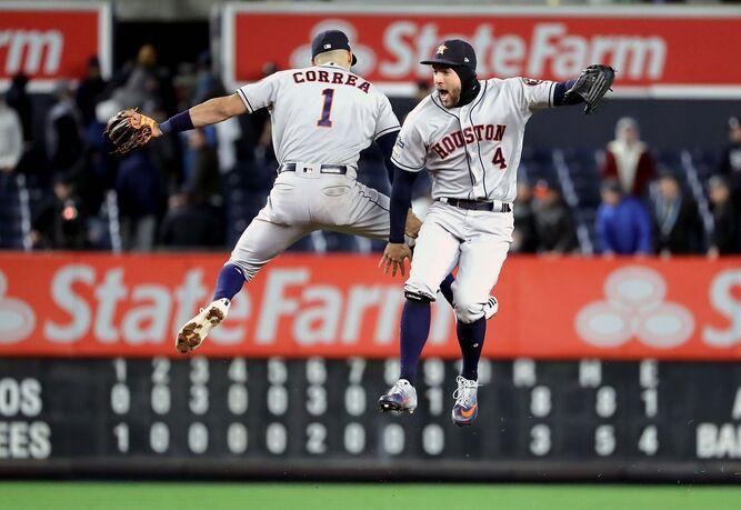 Los Astros se colocan a un paso de avanzar a la Serie Mundial