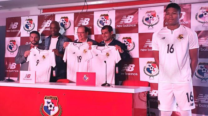 Panamá tiene nueva camiseta para la Copa Oro