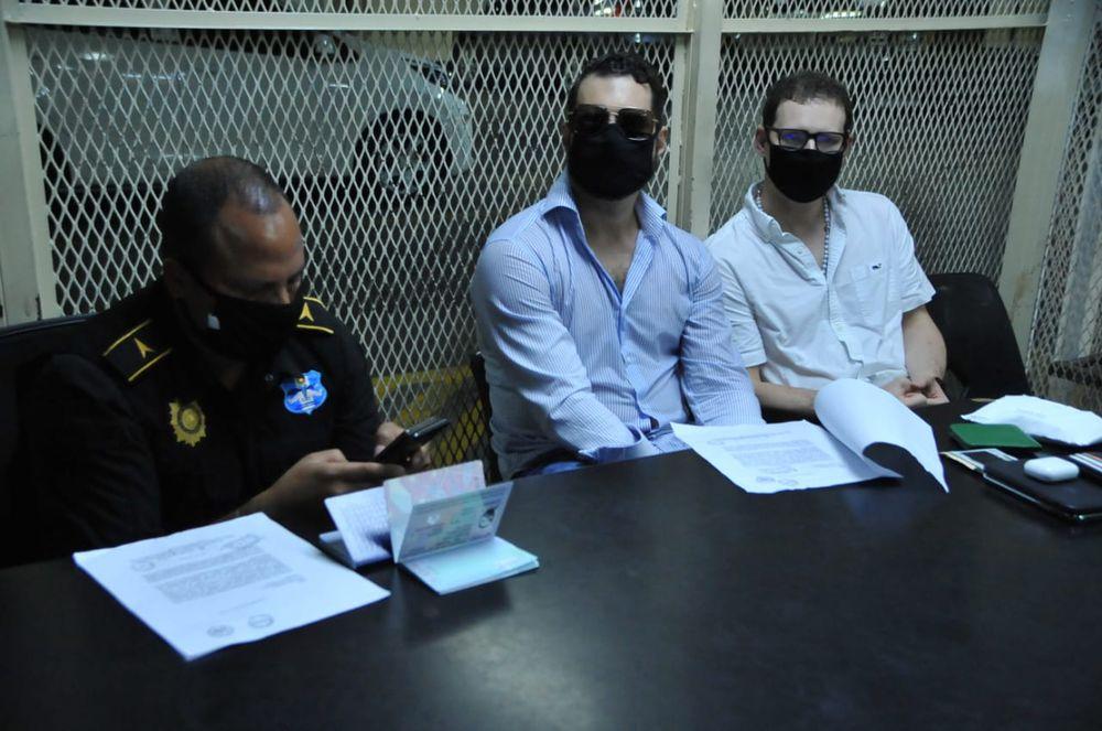 Ricardo Alberto y Luis Enrique Martinelli son detenidos en Guatemala, por una solicitud de extradición de Estados Unidos
