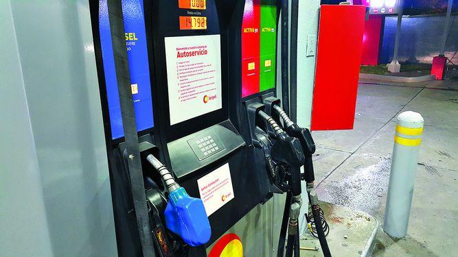 Rechazo a colores en gasolineras