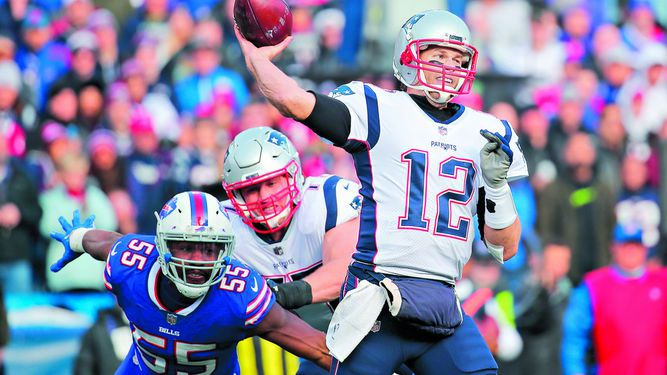Patriots y Vikings, imparables