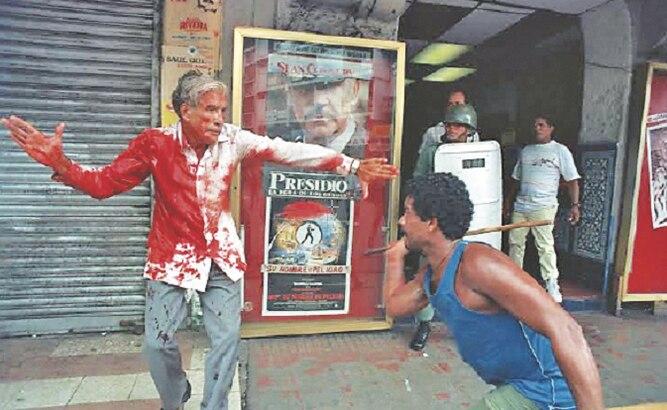 La foto que definió una era en Panamá