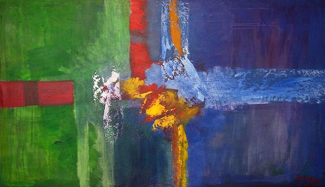 Obras de docentes panameños engalanan una galería en el Casco Antiguo