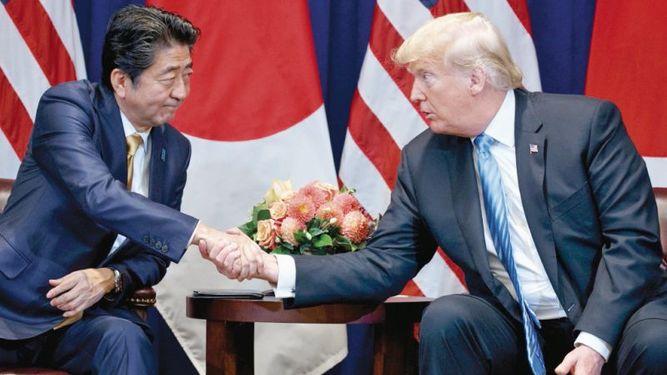 Donald Trump anuncia nuevas negociaciones comerciales con Japón