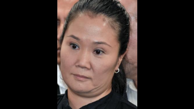 Rechazan liberación de Keiko Fujimori por caso Odebrecht