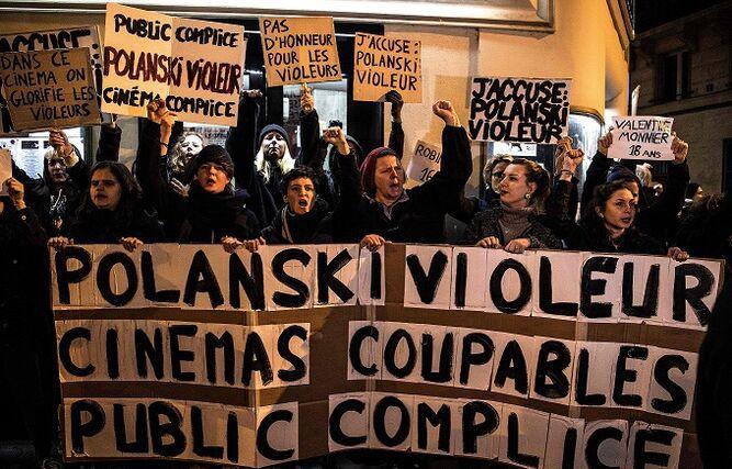 La nueva acusación de violación contra Polanski sacude el estreno de su filme en Francia