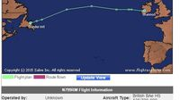 Avión de Ricardo Martinelli aterriza en Irlanda