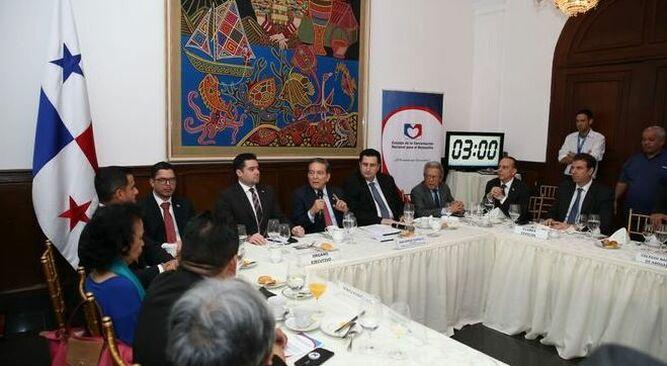 Presidente Cortizo se reunirá con la Concertación Nacional para discutir reformas