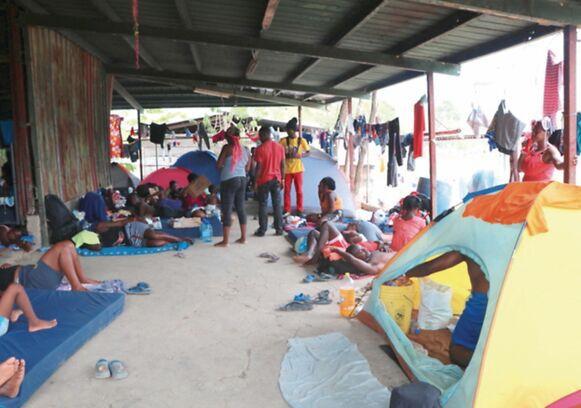 Número de migrantes que llegan a Darién, en aumento