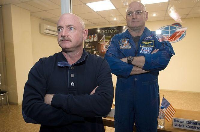 La NASA hace estudio comparativo de gemelos en Tierra y espacio