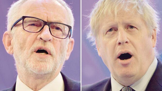 Corbyn y Johnson seducirían a la patronal
