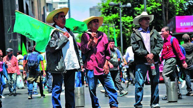 Campesinos mexicanos se oponen al Tlcan