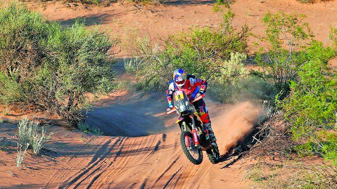 Price gana la etapa y Walkner acaricia el Dakar