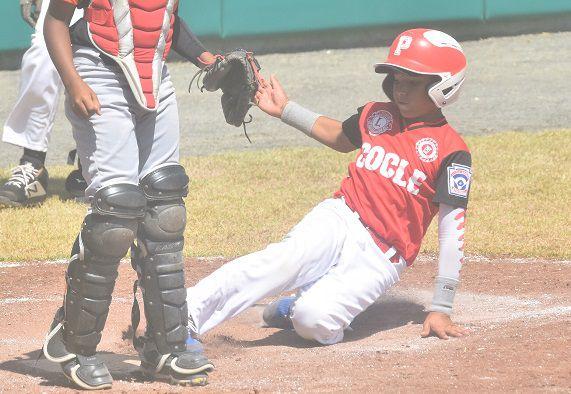 Coclé derrota a Chiriquí y avanza a la gran final del béisbol infantil