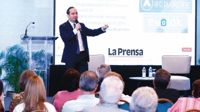 Corprensa presenta plan estratégico para reconvertirse en la era digital