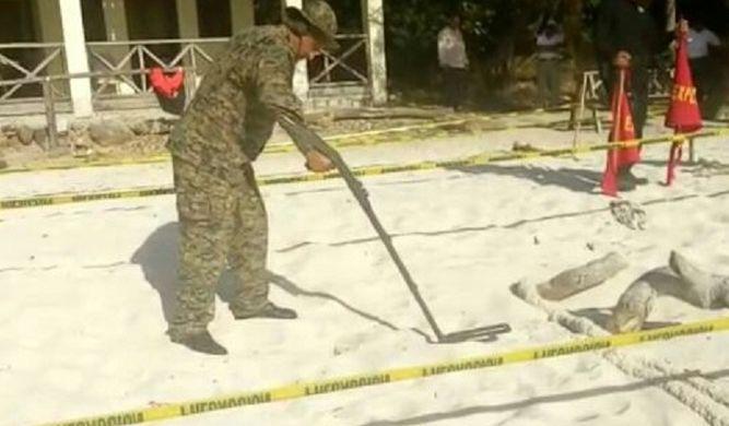 Se han hallado cuatro bombas en menos de un mes en Isla Iguana
