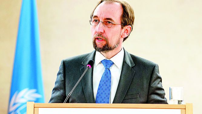 Zeid Ra'ad Al Husein, preocupado por gobierno austriaco