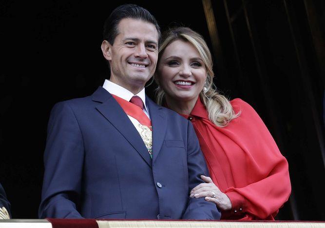 La actriz Angélica Rivera se divorcia del expresidente mexicano Peña Nieto