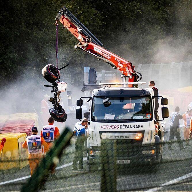 Muere el piloto francés Anthoine  Hubert  tras accidente de F2 en Spa