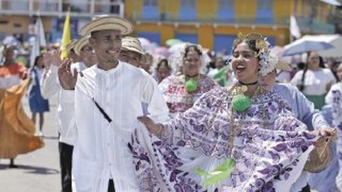 Panamá celebra su fiesta