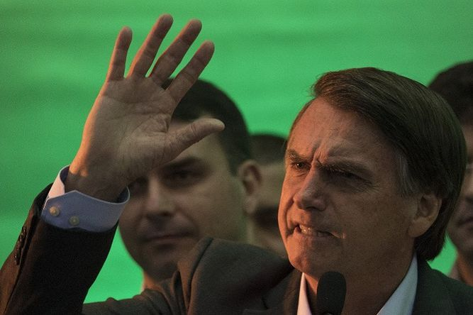 El ultraderechista Jair Bolsonaro quiere ser presidente para 'rescatar' a Brasil