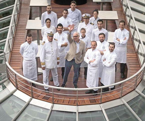 Chef Ducasse lanza barco restaurante