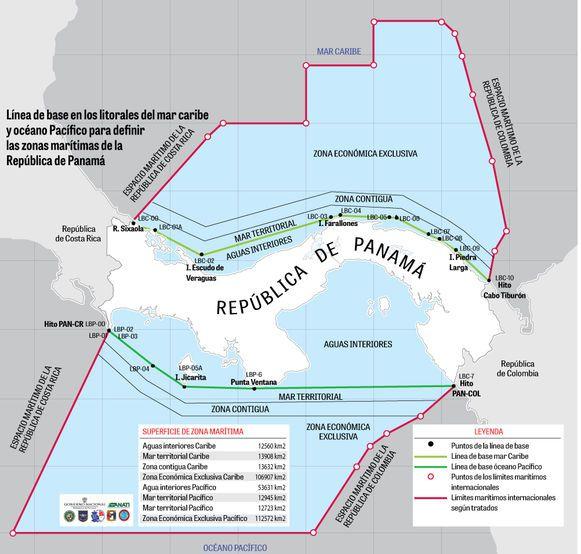 Límites marítimos ya tienen nombre