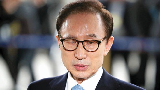 Expresidente surcoreano Myung reconoce sobornos