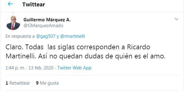 Ricardo Martinelli baraja tres nombres para su nuevo partido político