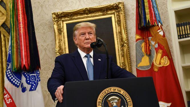 La Casa Blanca no cooperará en investigación de juicio político contra Trump