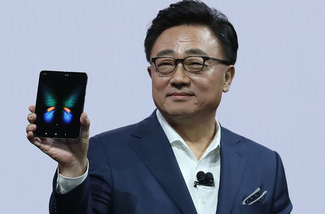 Galaxy Fold, el teléfono inteligente con pantalla plegable de Samsung