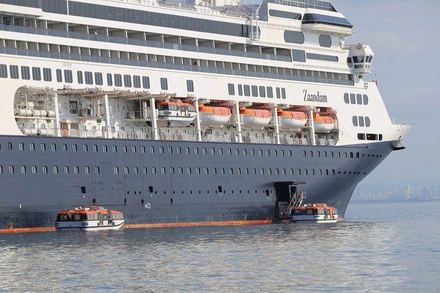 Gobierno Nacional autoriza paso del crucero Zaandam por el Canal de Panamá