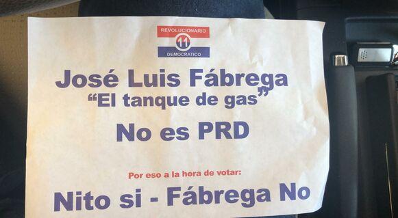 Propaganda anónima ataca a Fábrega, candidato a la Alcaldía de Panamá por el PRD