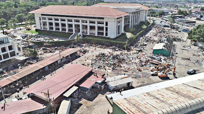 'Seguiremos  en la zona hasta cumplir con la demolición': Del  Rosario