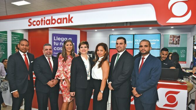 Scotiabank Panamá participó en Capac ExpoHábitat 2019