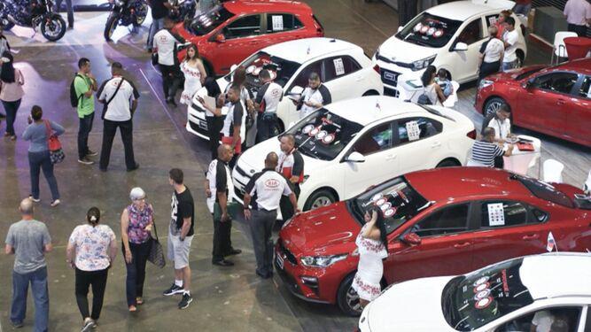 Venta lenta de automóviles en el primer semestre del año