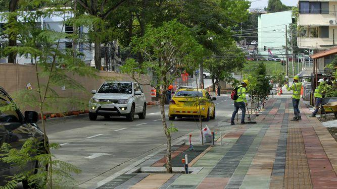 En marzo terminan los trabajos de revitalización de vía Argentina, según la Alcaldía