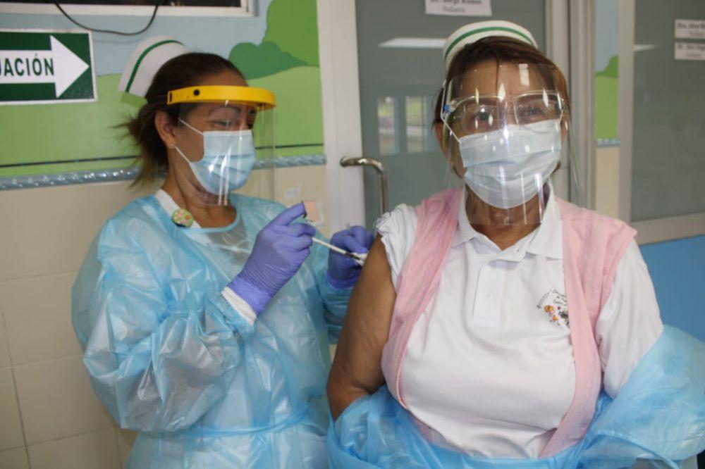 Panamá concluye proceso de vacunación; se logra vacunar a 6,420 personas