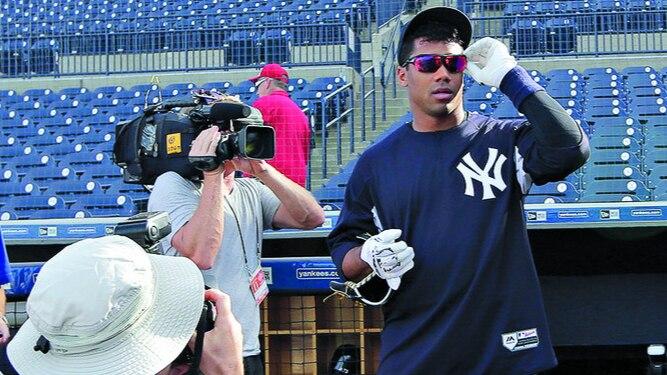 Un 'quarterback' con los Yankees