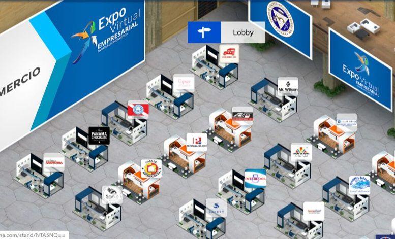Unas 200 empresas participan de la primera versión de Expo Virtual Empresarial Panamá – Latinoamérica