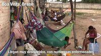 La crisis empuja a más de 12 mil venezolanos a huir a Brasil, en los últimos tres años