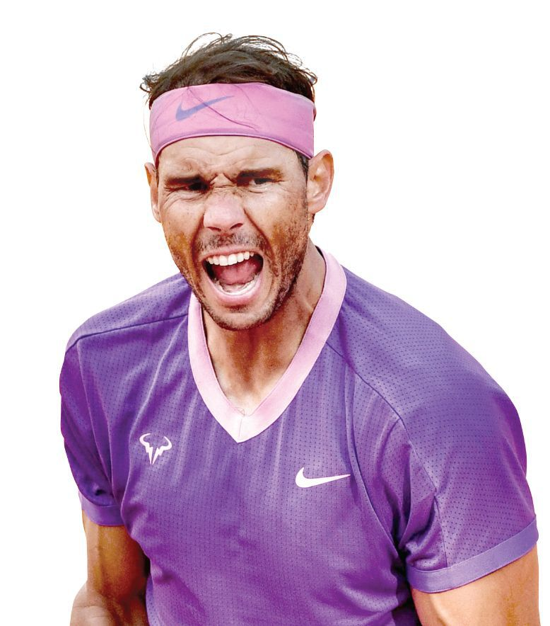 Rafael Nadal le apunta a su 14 Roland Garros