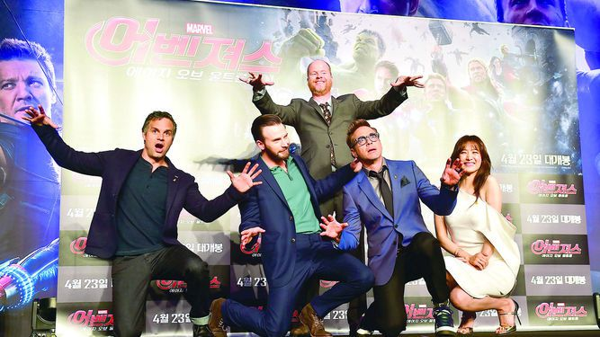 El regreso de 'Los Vengadores'