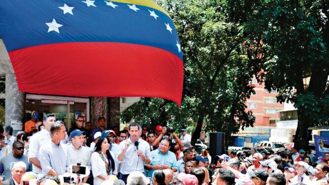 Guaidó dice que llevará a la ONU una delegación de Venezuela