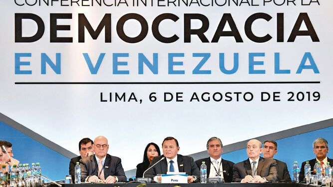 Un clavo más al cerco del régimen de Maduro